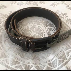Men's leather belt Timberland